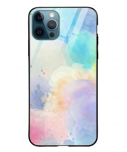 Paint Colors iPhone 12 Pro Max Glass Case Cover