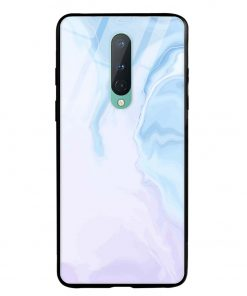 Pastel Marble Oneplus 8 Glass Case Cover