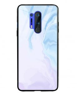Pastel Marble Oneplus 8 Pro Glass Case Cover