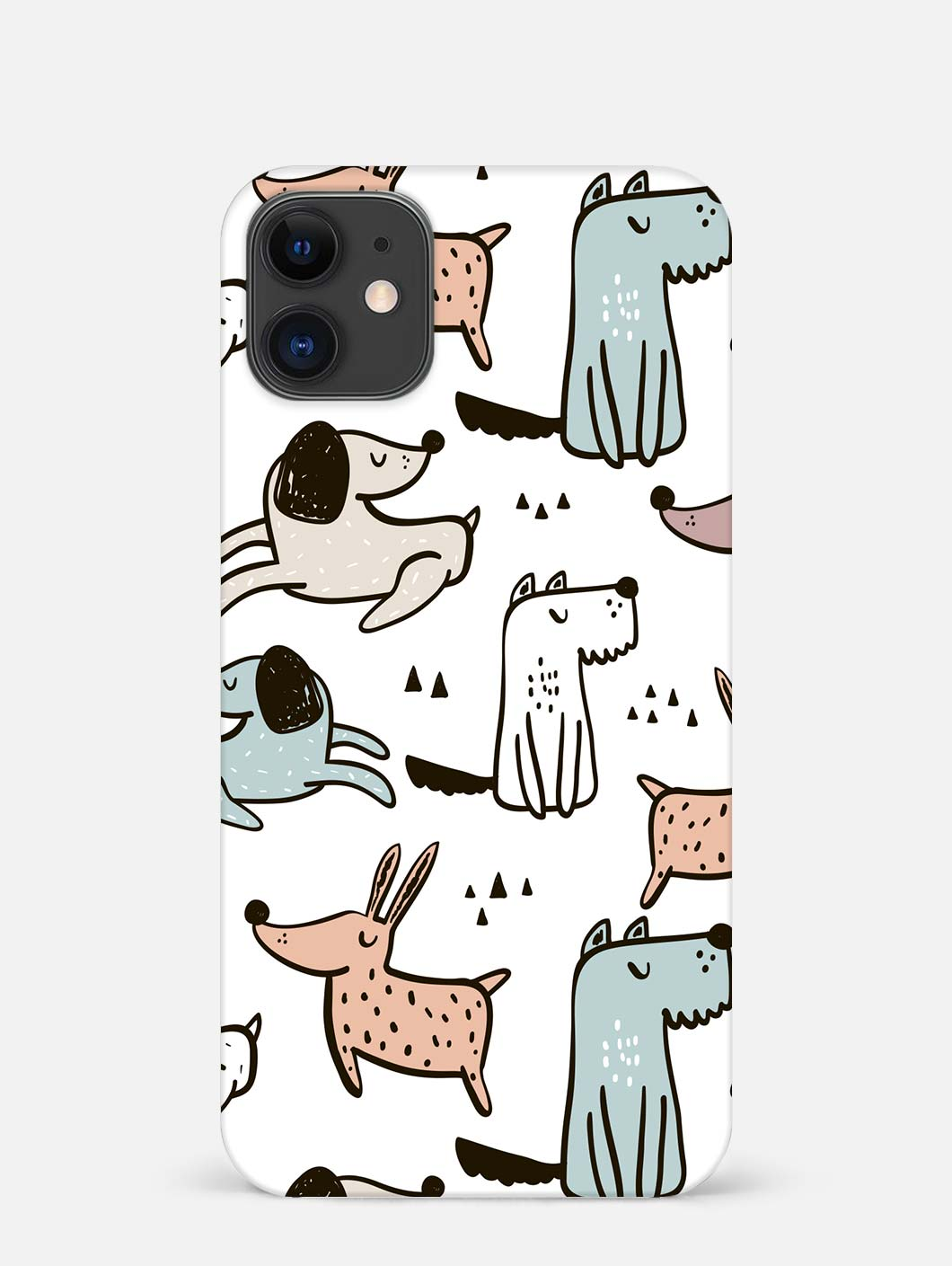 Dogs iPhone 12 Mini Mobile Cover