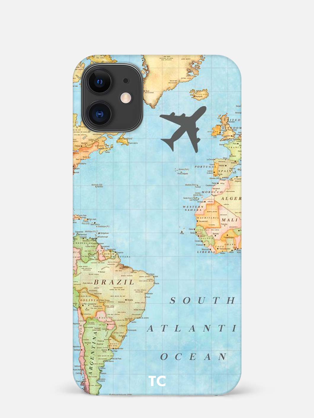 Map iPhone 12 Mini Mobile Cover