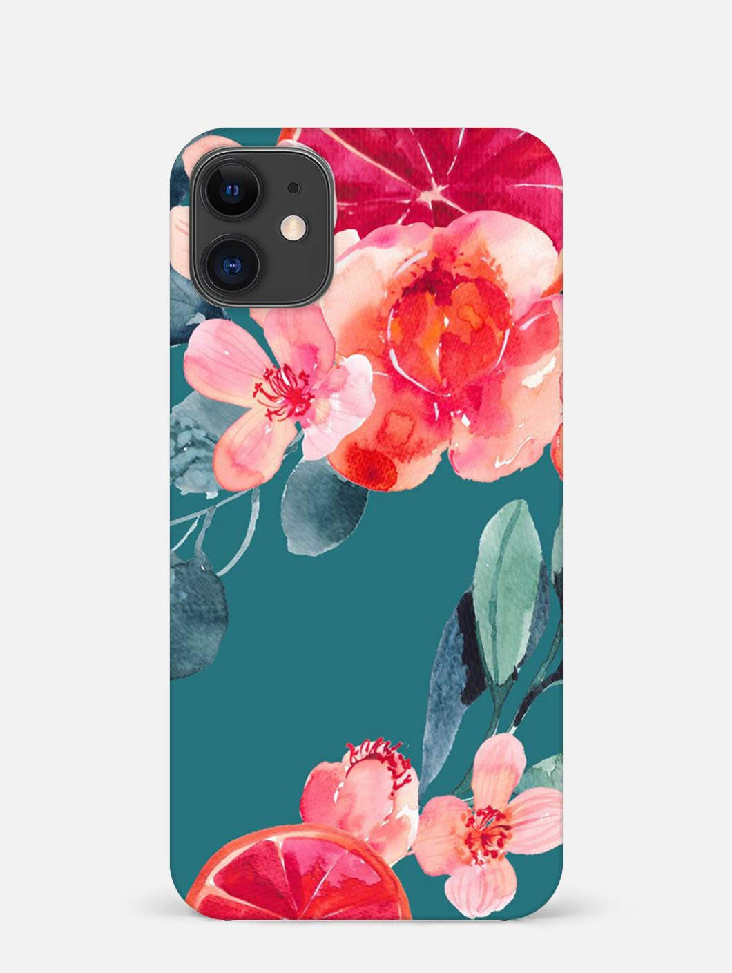 Red Flower iPhone 12 Mini Mobile Cover