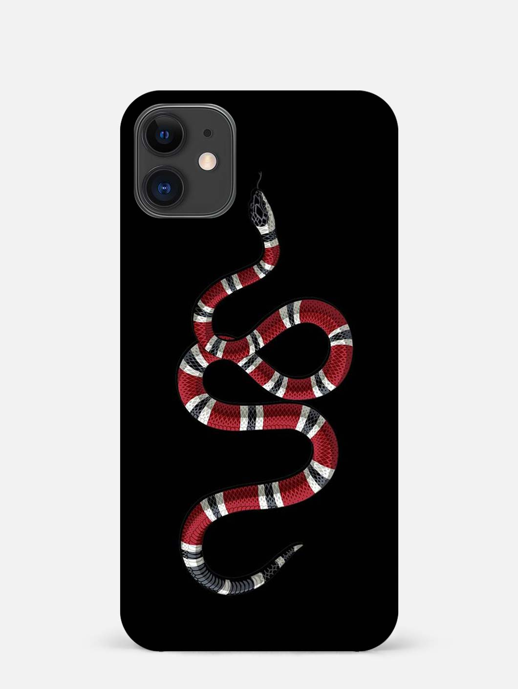 Red Snake iPhone 12 Mini Mobile Cover