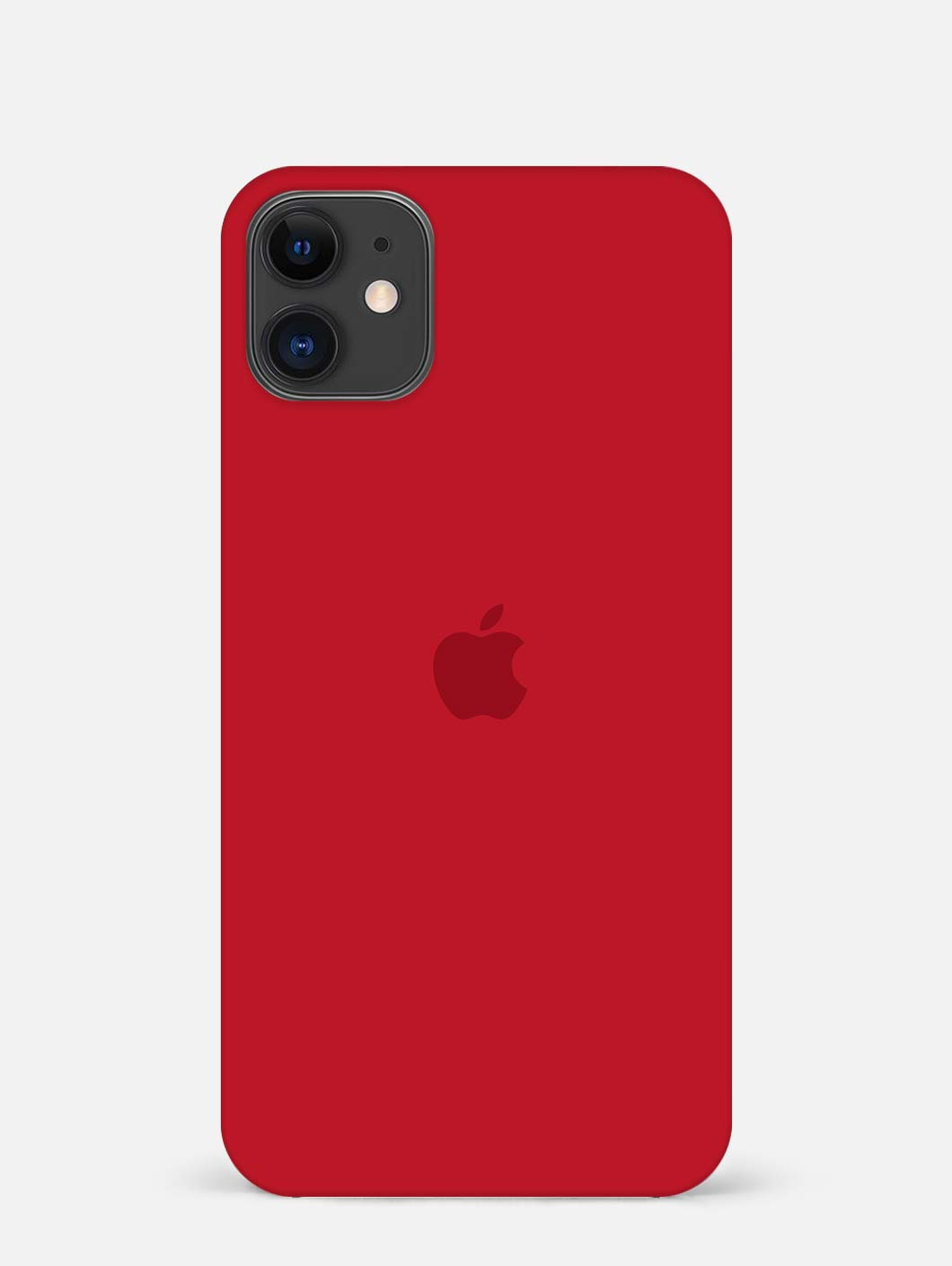 Red Logo iPhone 12 Mini Mobile Cover