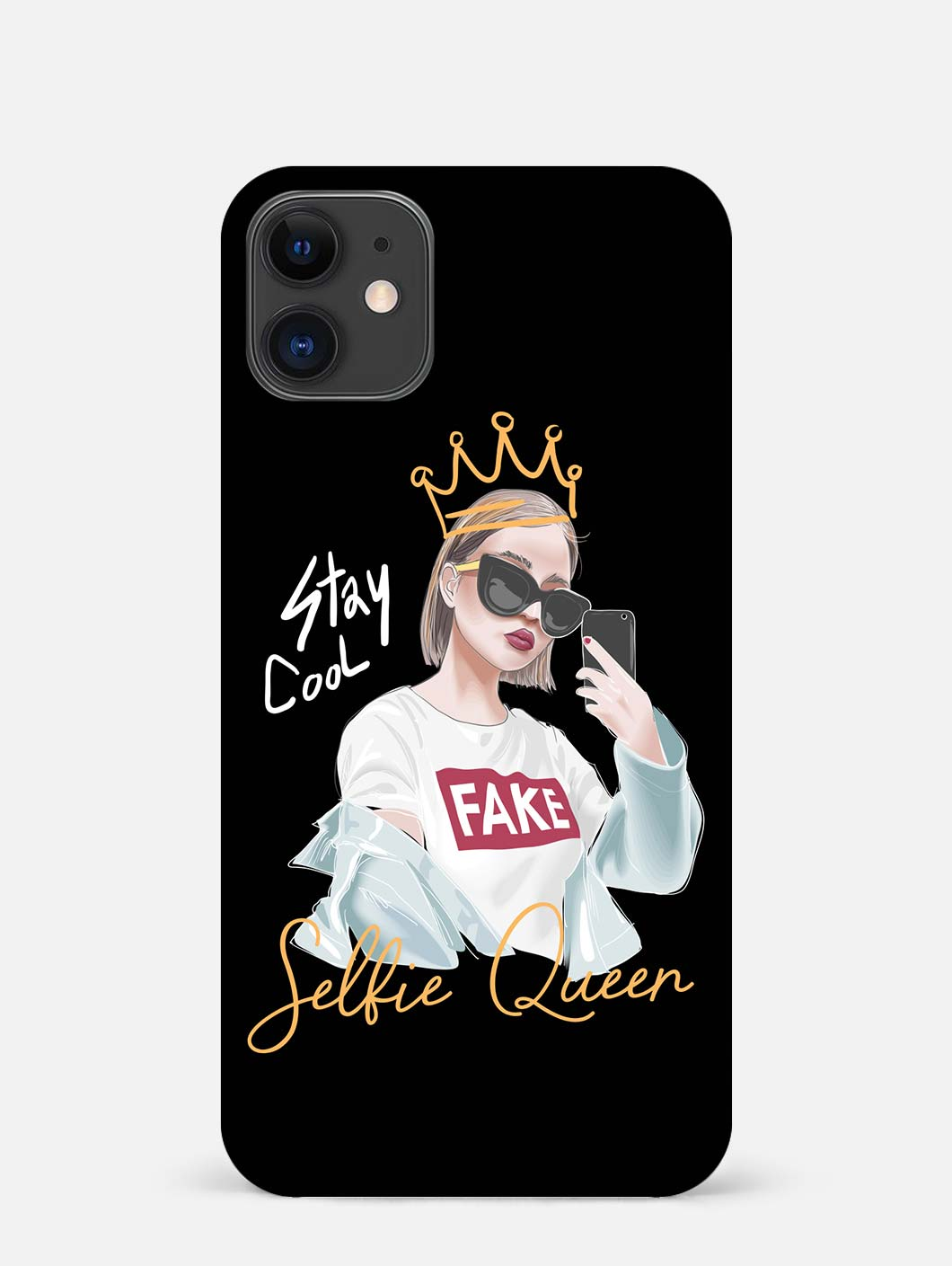 Selfie Queen iPhone 12 Mini Mobile Cover