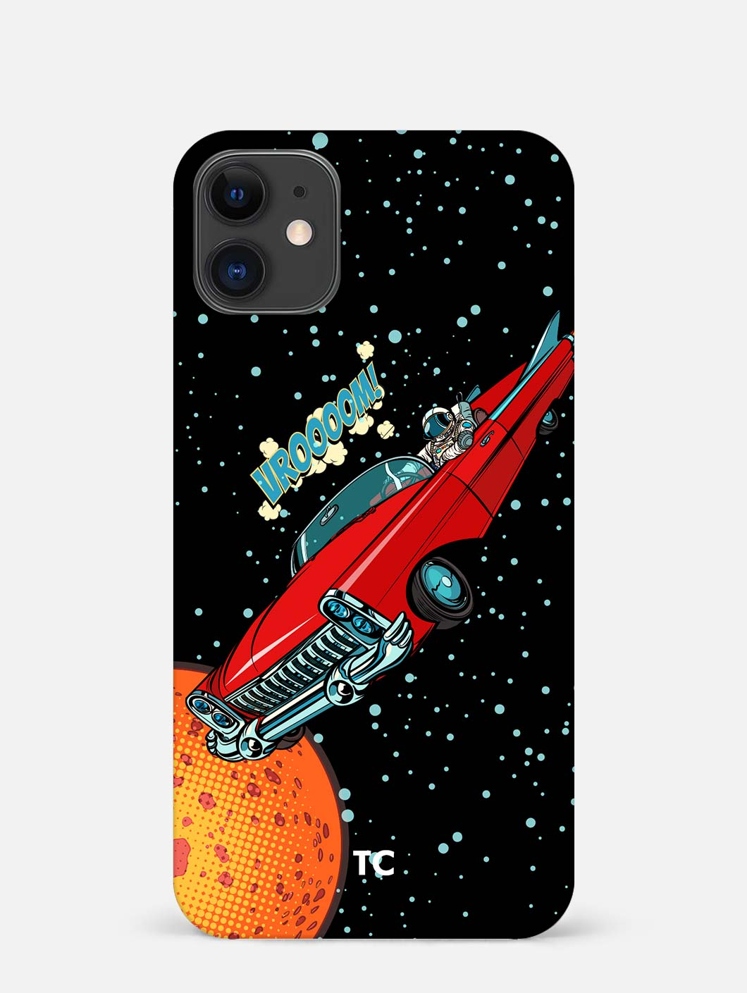 Space Travel iPhone 12 Mini Mobile Cover