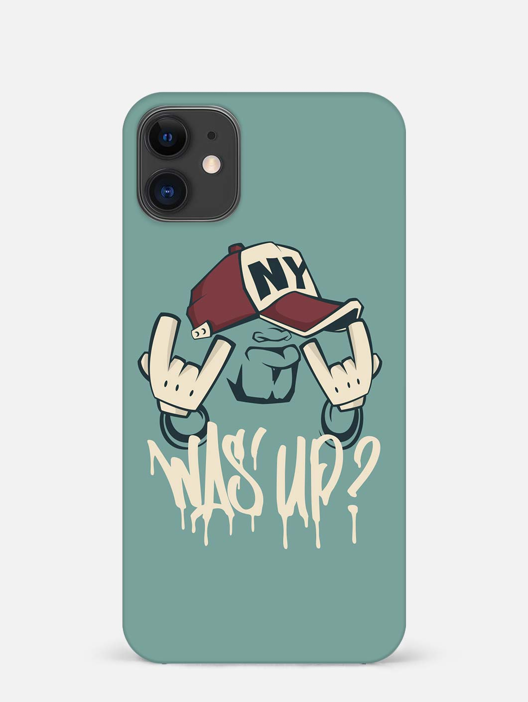 Was'up iPhone 12 Mini Mobile Cover