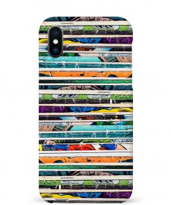 Comic Stack iPhone Xs Max Mobile Cover