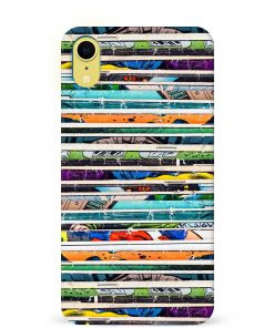 Comic Stack iPhone XR Mobile Cover