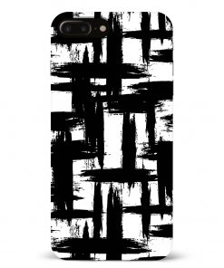 Monochrome iPhone 8 Plus Mobile Cover