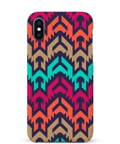 Mixed Colors iPhone Xs Max Mobile Cover