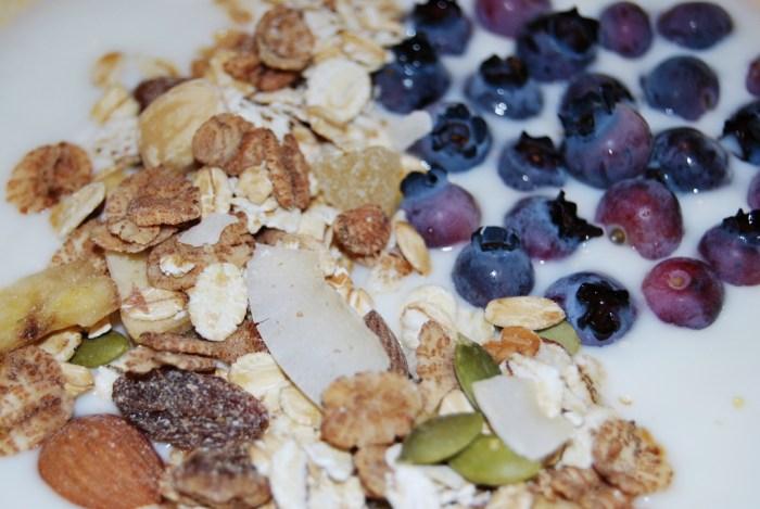 yoghurt bluberry