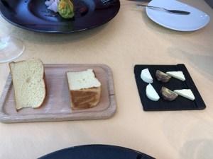 自家製パンとバター