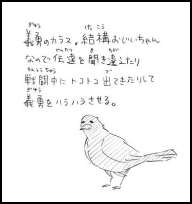 冨岡義勇の鎹鴉