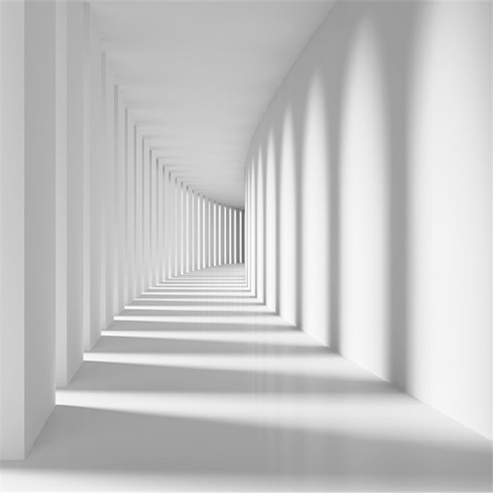 Custom-White-passage-corridor-photo-wallpaper-for-living-room-sofa-spatial-extension-personality-wall-mural-wallpaper