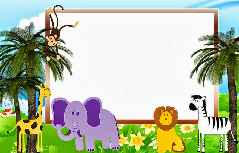 Baby Shower Invitations Zoo