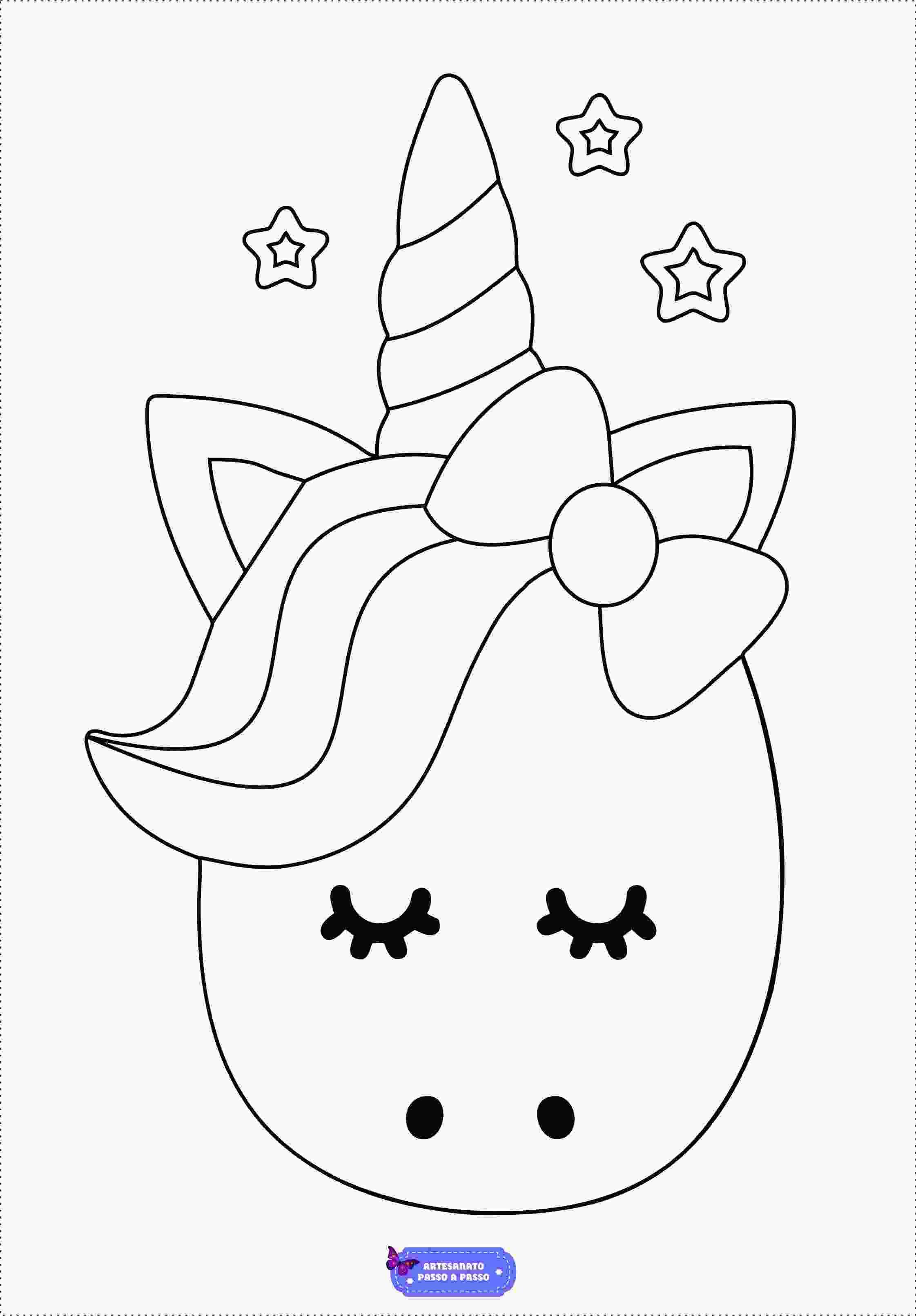 Dibujos De Unicornios Para Pintar Faciles Aprende A Dibujar