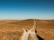 Um caminho que leva à morte