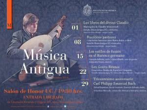 Ciclo de Música Barroca en la Universidad Católica.