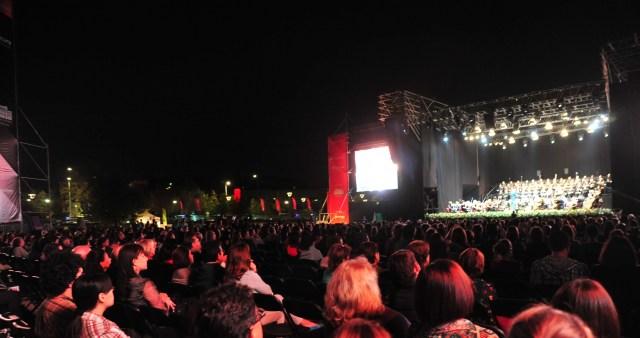 Requiem de Mozart en Parque Bicentenario, Santiago de Chile