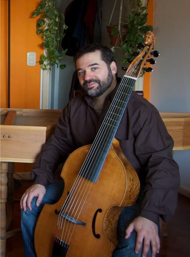 El músico argetino Juan Manuel Quintana.