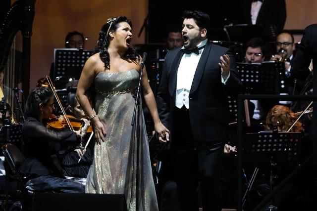 Anna Netrebko & Yusif Eyvazov en Movistar Arena - © Checho Garcia Pardo - CHM59586
