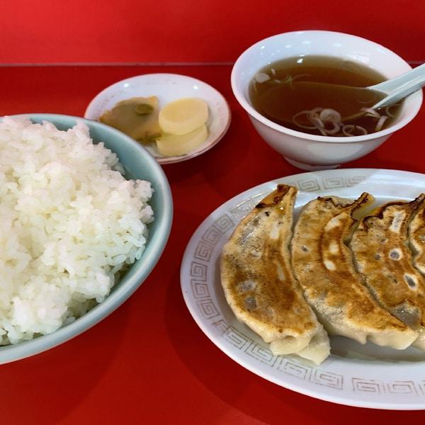 餃子+定食