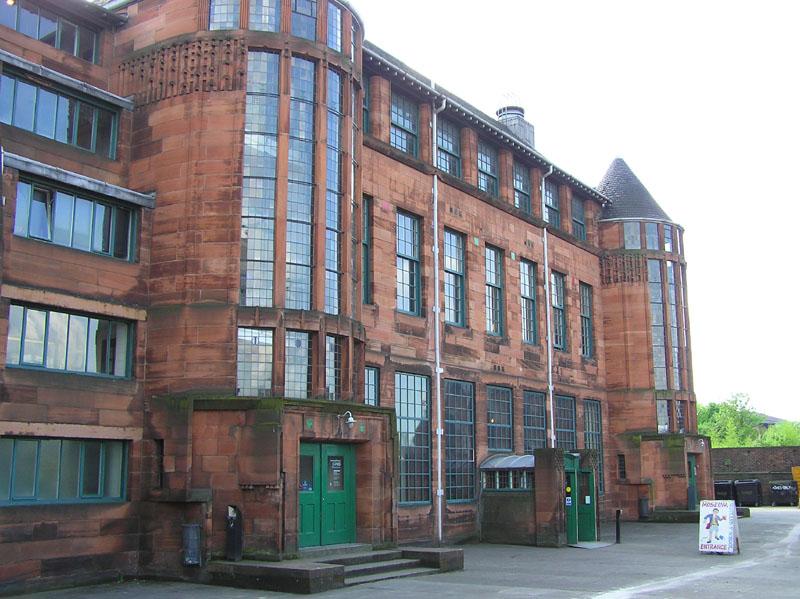 Scotland Street en Glasgow. De Charles Mackintosh. Fuente (1)