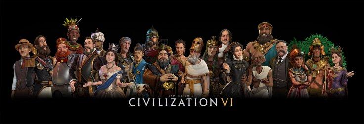 Personajes del Civilization VI