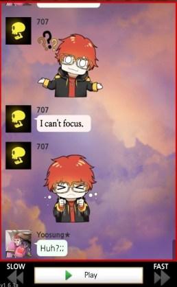 Seven no puede concentrarse