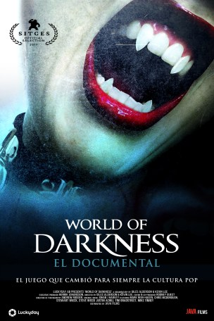 Póster promocional de World of Darkness, el documental