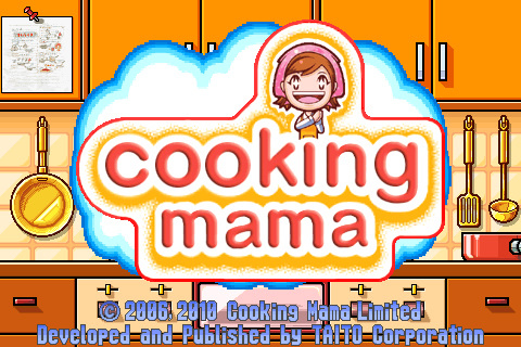 Cooking Mama on the iPhone