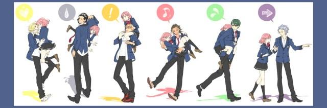 tokimeki memorial only love personajes
