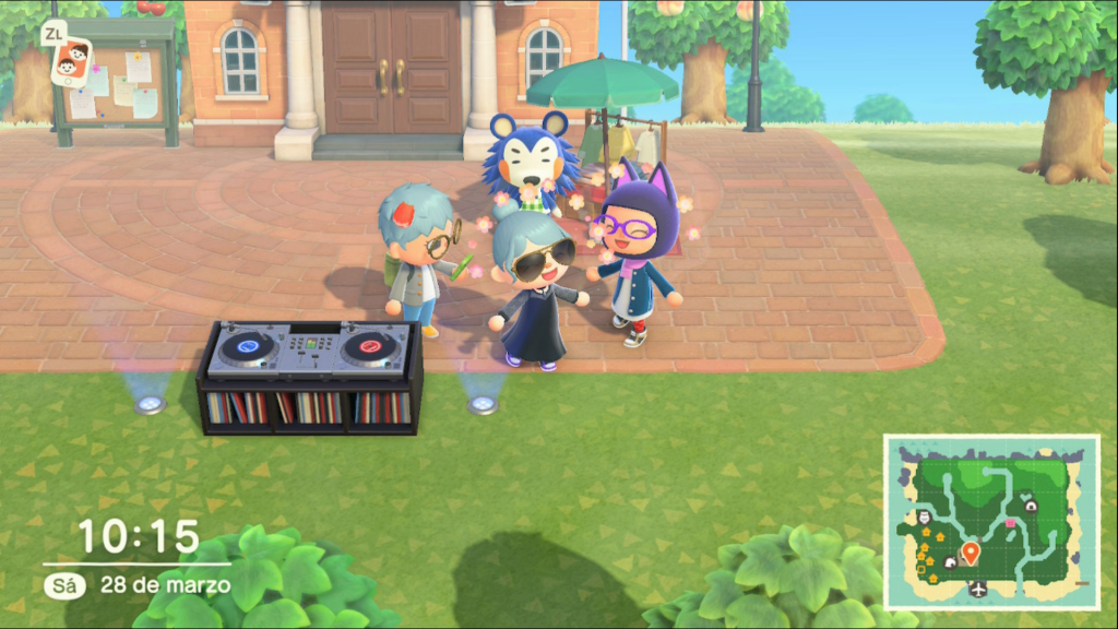 Animal Crossing New Horizons De Fiesta