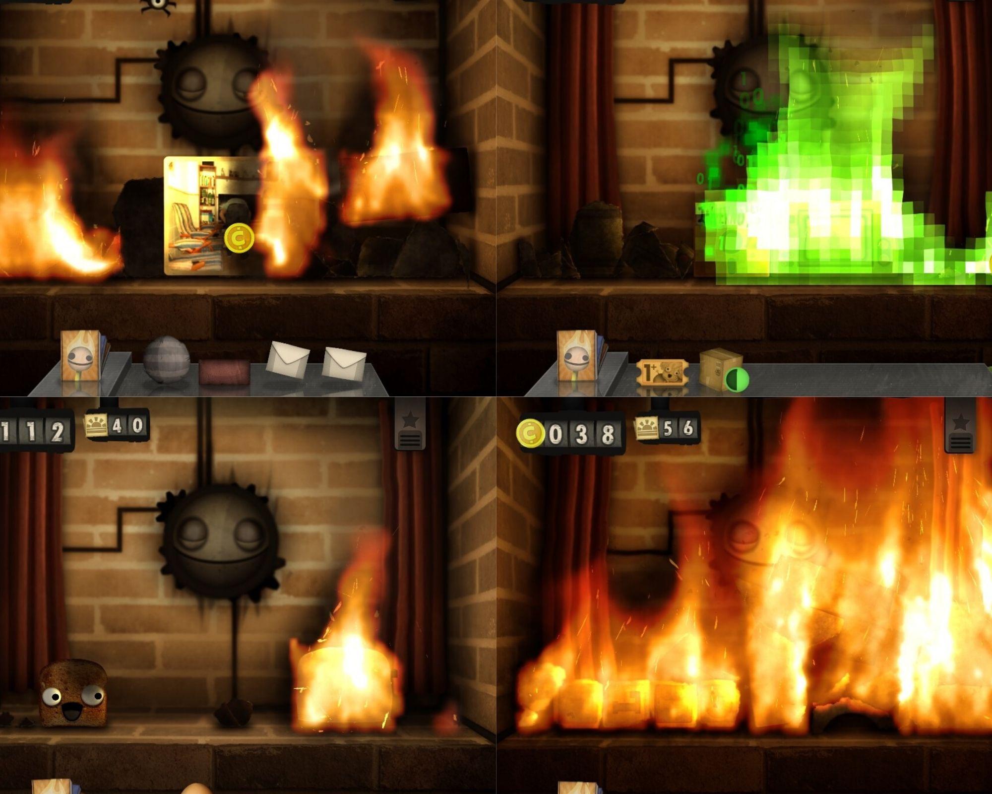 Little Inferno collage