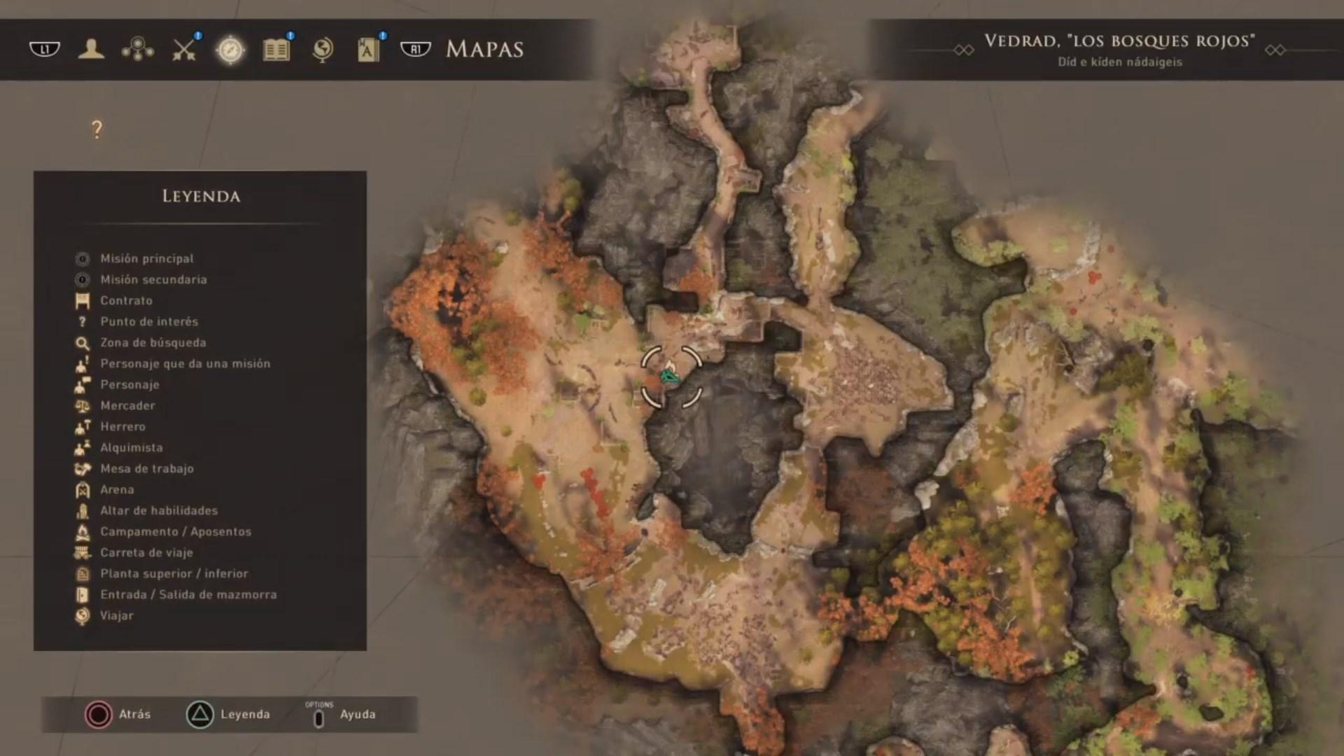 Un trozo de mapa