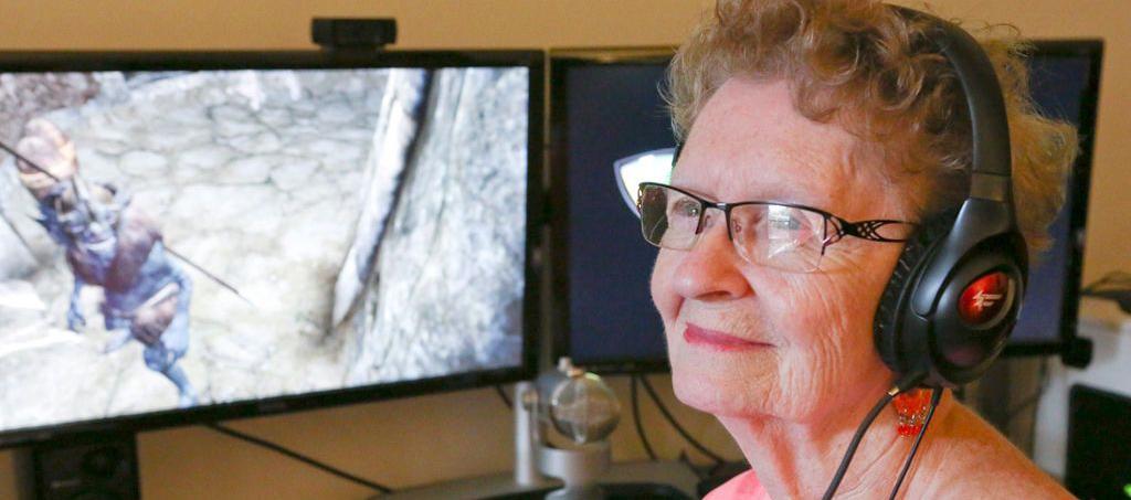 Shirley Curry, la abuela del Skyrim