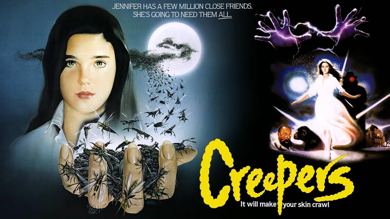 Pósters de la película Suspiria en EE.UU., llamada Creepers.