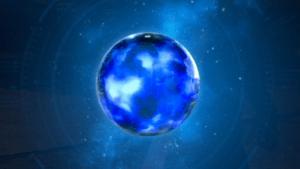 Materia de apoyo de color azul