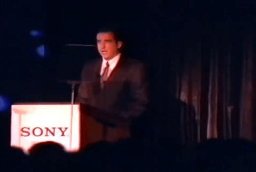 Steve Race en 1995 en la conferencia del E3