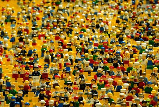 Multitud de Legos