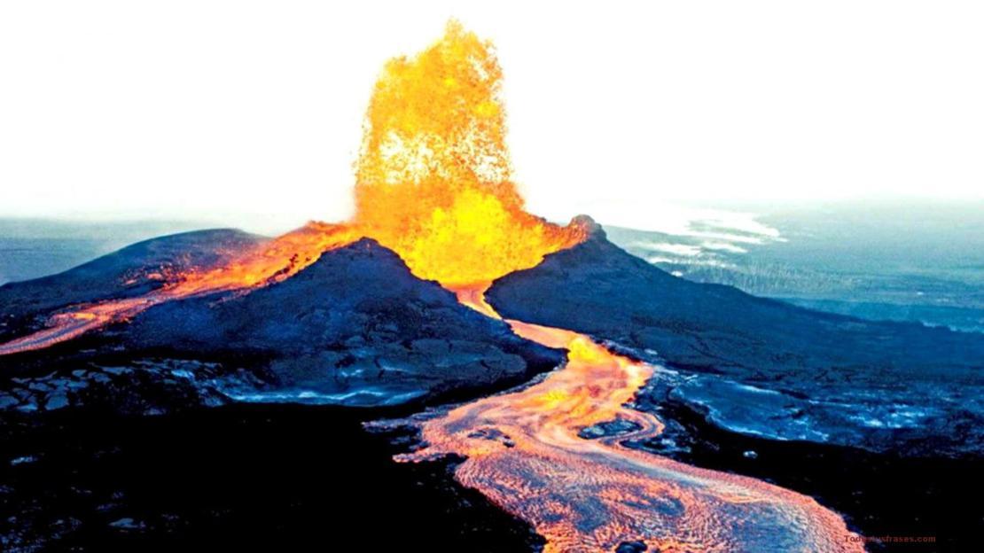 Fondos de pantalla de volcanes