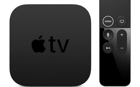Apple TVをiPhoneで操作 コントローラーパネルから開ける