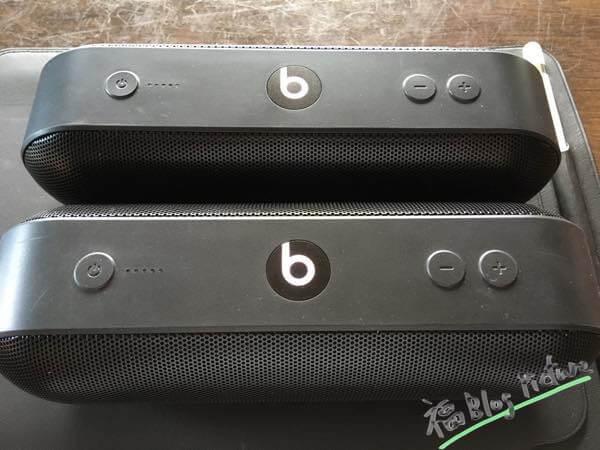 Beats pill+2台揃えてステレオモードにした結果