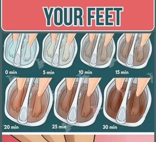 HOW TO DETOX YOUR BODY FROM TOXINS THROUGH THE FEET