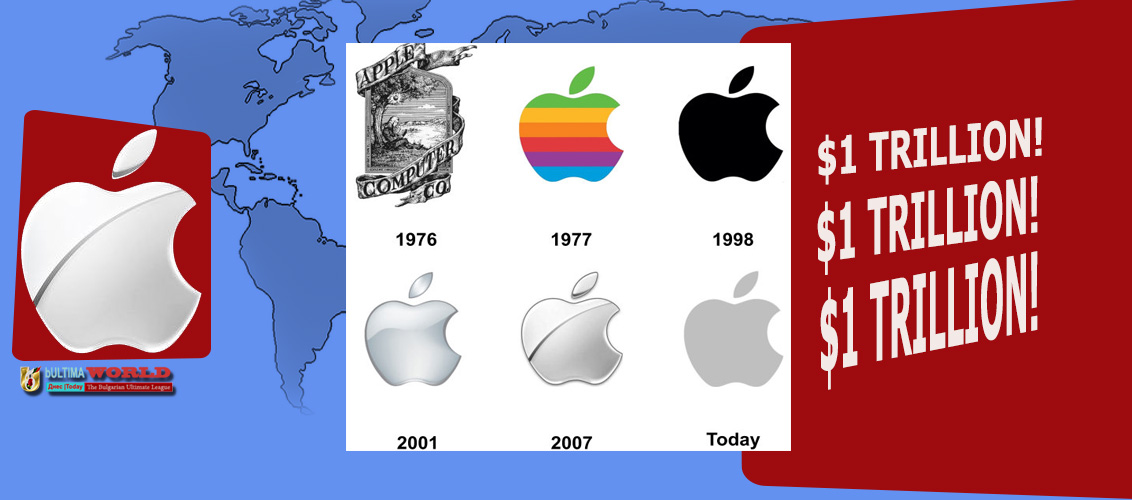 ICT Apple hit 1 trillion