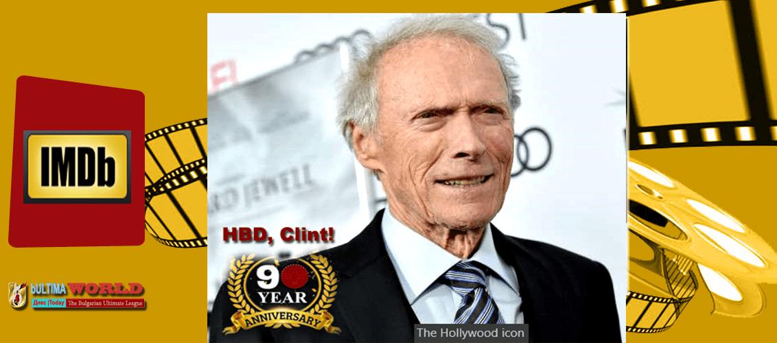Clint Eastwood 90th