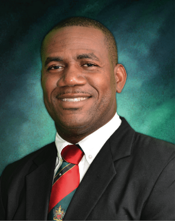 Deputy Prime Minister Honourable Shawn Richards