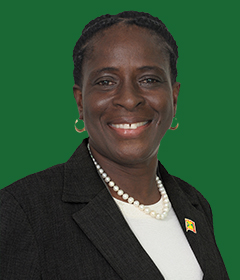 Grenada Minister of Tourism the Hon. Clarice Modeste-Curwen