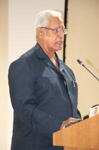 Minister of Agriculture of Guyana, the Hon. Noel Holder.